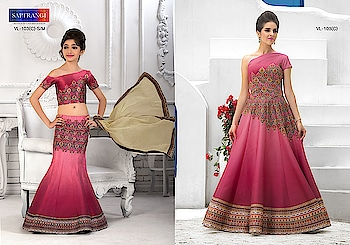 Shop #motherdaughter #matchingoutfit #2in1 Lehenga + Gown for #girls as well #indainwear  @ ArtistryC.in  Flaunt latest styled cuts and look with these Indian Dresses, Give yourself the stylish look for Rich Traditional Indian #Weddings.  > Have a look now :D #partystate #Shaadiseason #bff #Happyvibes #USA #CANADA #UK #Australia #Newzeland #SouthAfrica #Srilanka #UAE #DUBAI #Singapore #Malaysia