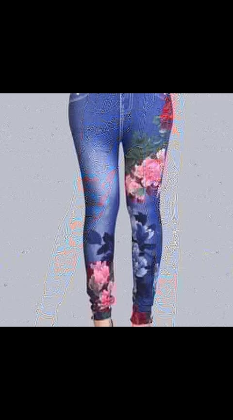 *Classy Printed Jeggings*   *Price Rs 450*