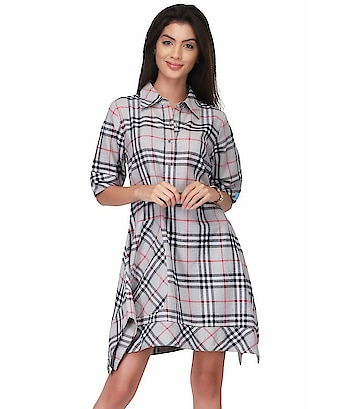 here are some products CHECKER COTTON DRESS from the house VICVIM:This is designed as per the latest trends to keep you in sync with high fashion and with wedding and other occasion, it will keep you comfortable all day long. The lovely design forms a substantial feature of this wear.It looks stunning every time you match it with accessories.  To buy click on this link:- https://www.snapdeal.com/…/vicvim-cotton-grey-…/635689726895  #flaredress, #flaredressesforwomen, #shortdress, #womenminidress