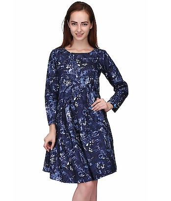 here are some products DENIM PRINT COTTON TOP / DRESS KURTI from the house VICVIM :This is designed as per the latest trends to keep you in sync with high fashion and with wedding and other occasion, it will keep you comfortable all day long. The lovely design forms a substantial feature of this wear.It looks stunning every time you match it with accessories  To buy click on this link:- https://www.snapdeal.com/…/vicvim-cotton-blue-…/632462409812  #flaredress, #flaredressesforwomen, #shortdress, #womenminidress
