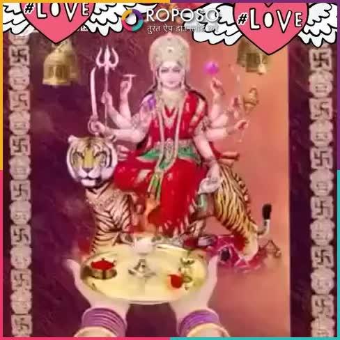 Aarti Jai Maa #hearts #glitter