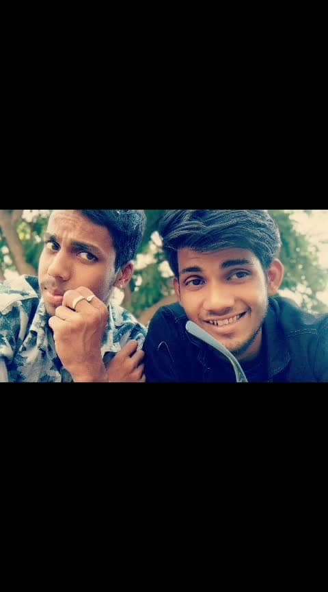 😎😎me and my frnd  . #roposostylefiles #frnds #pic #roposo-pic