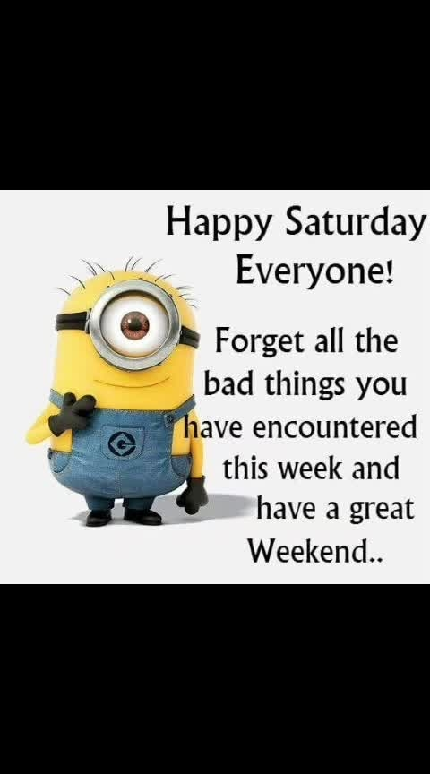 #happysaturdayeveryone   #weekend   #morningpost   #todayisnevertoolatetobebrandnew