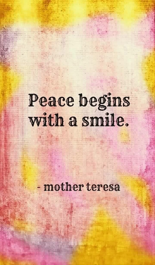 Peace begins with a smile...  #smile #smilemore #peace #peaceful #soulfulquotes