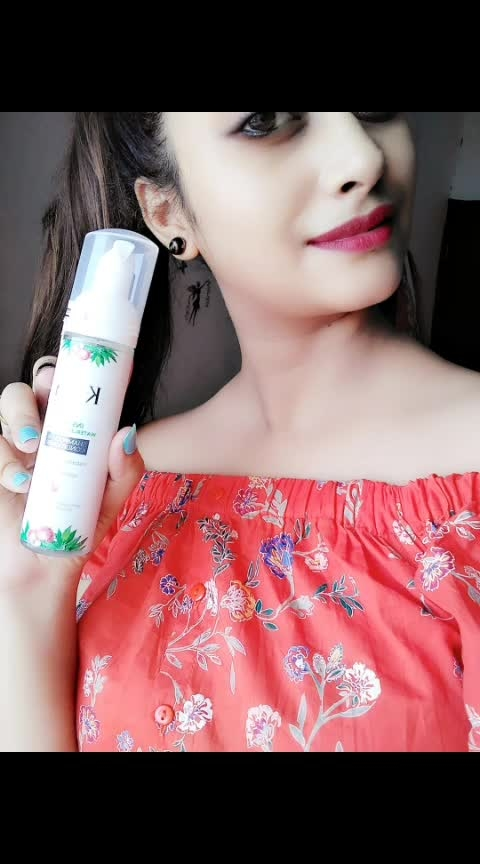 KTEIN DRY SHAMPOO AND CONDITIONER | REVIEW  Hello Everyone, I am here with a very interesting product from the brand Ktein Cosmetic. It's a dry shampoo plus conditioner. Now, read on to know more details about this product.  PRODUCT DESCRIPTION👇 Ktein Instant Natural Waterless Shampoo and Conditioner is one of its kind and an ideal solution for hair cleansing and conditioning within a minute without the need to shower. No hassel and an easy to use anywhere anytime product. Made for your convenience and assurance of the product being natural and contains no harmful ingredients.  LET'S BEGIN THE REVIEW WITH THE PACKAGING OF THE PRODUCT The dry shampoo comes in a long, sleek, cylindrical white color bottle.The white color is so vibrant and attractive. This dry shampoo has a pump bottle, which is very easy to use. The bottle bears each and every product related information on its back. The product comes in only one size and this 70ml bottle is pretty good to carry around. So, I will put it in a travel friendly category.  COLOR AND CONSISTENCY👇 The dry shampoo is transparent in color and it has a thin watery consistency. The bottle has 70 ml liquid product which is converted to foam on dispensing from the pump. Once, I press the pump, it releases a mild pleasant aquamarine scent that is very refreshing and it lingers for long time. The smell is refreshing plus long lasting. It does not leave any whitish cast on the hair after applying. I massaged my scalp for a few minutes until, I was good and ready to go!  PRICE ▶295/-(70ml)  MY EXPERIENCE WITH KTEIN NATURAL DRY SHAMPOO 👇 it is not just another dry shampoo but a foam based natural cleanser and conditioner for your hair to instantly revive your dull and limp hair. managing your hair without washing it with water, convert dull, limp, sweaty and polluted hair into the clean, refreshing and volumizing hair. my hair looked instantly fresh and clean.It did not make my hair hard or rough. My scalp looked fresh, dry and oil fr