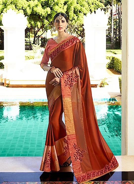 Fabric :- Fancy  Work :- Thread Work  Buy Now :- https://tinyurl.com/y827tn3b  Whats App :- +91 7621863000  #saree #partywear #casualwear #designer #indianwear