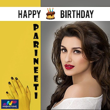 Vibrant, Quirky, Gorgeous. Wishing our absolute stunner Parineeti Chopra a very Happy Birthday!! HappyBirthdayParineeti. Nashikfame wishes you success, wealth and happiness!!  #pari #parineeti #ParineetiChopra #chirpy #bubbly #HappyBirthdayParineeti #bollywoodactress #Starbirthday #birthday #ParineetiChopraBirthday 🎂 🎉 💜 #birthdaycelebration #celeb #celebrity #actress #bollywoodcelebrity #CelebrityBirthday #Bollywood #SuperStar #birthdayParty #fun #celebration #Nashikfame #Nashik