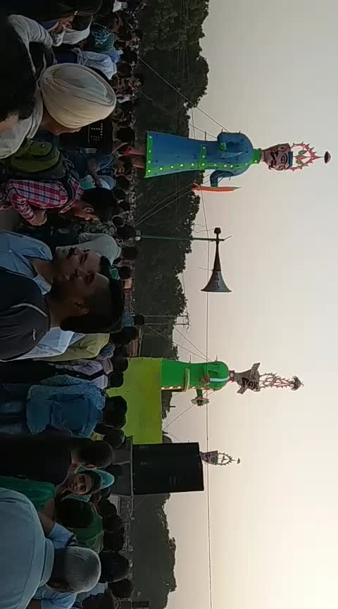#dussehra  #2018  #natural-look  #back   #the #biggest  #ravana  #efects   #roposo-entertainment  #news