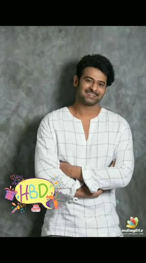 Happy Birthday  prabhas #happy #happybirthdayprabhas #love