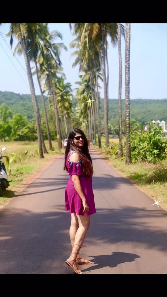Goa always surprises you in different ways!  Found few beautiful places and roads!!  New video series shoot started!! Stay tuned!!  Subscribe To My channel - https://bit.ly/2MtxYsP . . . . . . . . . #Shweetista #Travel #Travelideas #StylewhackTravel  #Wanderlust #Stylewhack #Travelspots #Aroundtheworld #Travelgram #Adventure  #TravelFashion #travelfashiongirl #travelogue  #traveldiary #travelblogger #traveller #expatlife #livetotravel #girlswhotravel  #travelog #locationindependent #travelmore #travelholic #travelandlife #traveldiaries #incredibleindia #travelingram #goabeyondbeaches