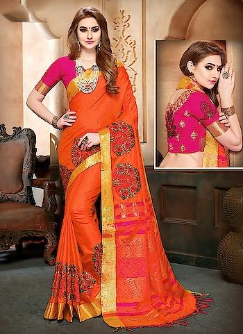 Fabric :- Soft Banarasi Silk Work :- Kashmiri Work Butta All Over  Buy Now :- https://tinyurl.com/y827tn3b  Whats App :- +91 7621863000  #saree #partywear #casualwear #designer #indianwear