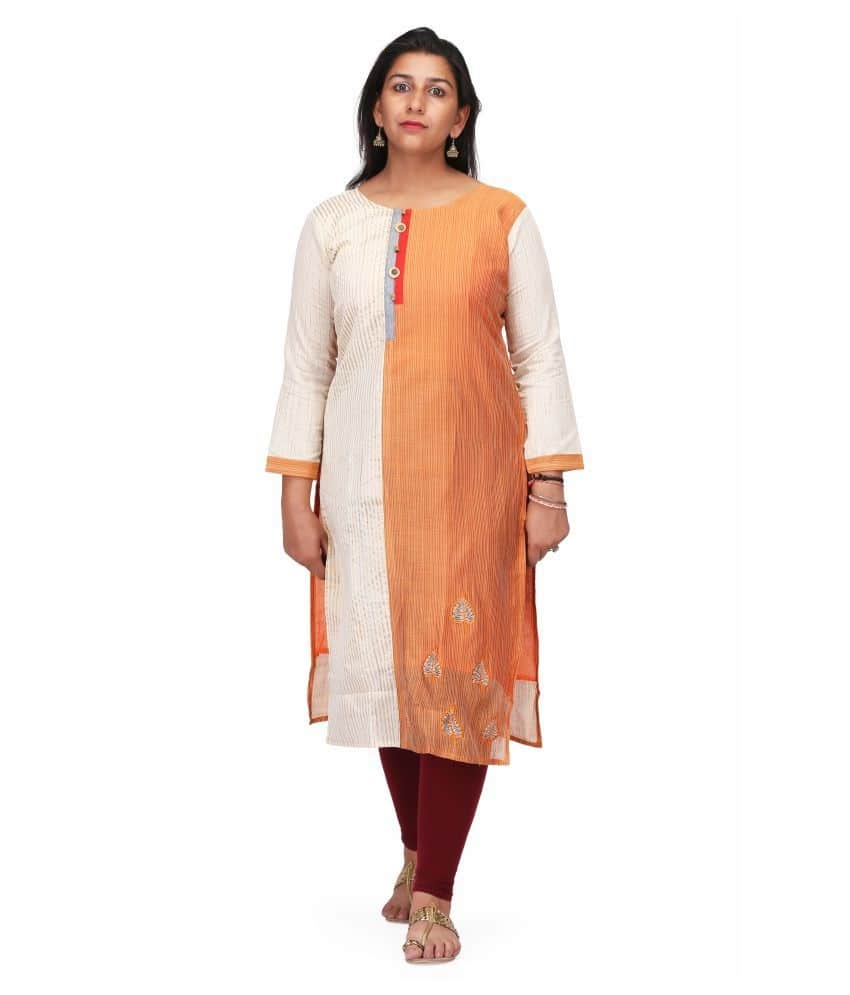 Charitra Vic Multicoloured Chanderi Straight Kurti Get the perfect Indian look by wearing this stylish kurti for women from the house of CHARITRA VIC.This rayon fabric kurti will be a worthy addition to your wardrobe and you will want to wear it every time you step out.The heavy embroidery work with mirror, straight style, leheriya pattern kurti will make everyone around you want it too.So feel beautiful and make your day..Graceful and gorgeous Double layered kurtis are exactly as Designed with an extra layer Multi Color Combination With Beautiful stitched Cotton Kurti For Women from the house of CHARITRA VIC is designed to match the Fresh trends to keep you up to date with Latest fashion and with your wedding, party, festival, traditional day and any special occasion.  To buy click on this link:- https://www.snapdeal.com/…/charitra-vic-multic…/621937271794  #kurti #ladieskurti #kurtiforgirls #womenkurtis