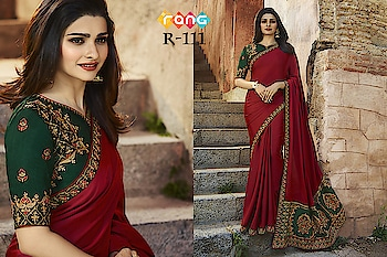 Prachi Desai Maroon Silk Saree. Link To Buy:- https://bit.ly/2D0q9ee To Order Whats-app us (+91) 8097909000 #saree #sarees #saris #handloom #weaving #Printedsaree #embroidered  #embroideredwork #floral #floralprint #floralsarees #love #designersarees #sareelove #sareeblouse #sareeswag #swag #sari #sarinotsorry #sareeindia #indiansaree #outfitoftheday #ootd #sareeoftheday #sareeaddict