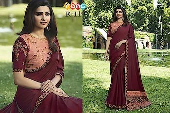 Prachi Desai Maroon And Peach Silk Saree. Link To Buy :- https://bit.ly/2Scrm6v To Order Whats-app us (+91) 8097909000 #saree #sarees #saris #handloom #weaving #Printedsaree #embroidered  #embroideredwork #floral #floralprint #floralsarees #love #designersarees #sareelove #sareeblouse #sareeswag #swag #sari #sarinotsorry #sareeindia #indiansaree #outfitoftheday #ootd #sareeoftheday #sareeaddict