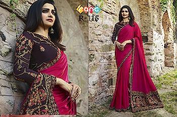 Prachi Desai Magenta Pink Silk Saree. Link To Buy :- https://bit.ly/2CZSIZc To Order Whats-app us (+91) 8097909000 #saree #sarees #saris #handloom #weaving #Printedsaree #embroidered  #embroideredwork #floral #floralprint #floralsarees #love #designersarees #sareelove #sareeblouse #sareeswag #swag #sari #sarinotsorry #sareeindia #indiansaree #outfitoftheday #ootd #sareeoftheday #sareeaddict
