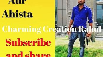 Aur Aahista Kijiye baatein Pankaj Udash Gazal | Feat CharmingCreation Rahul