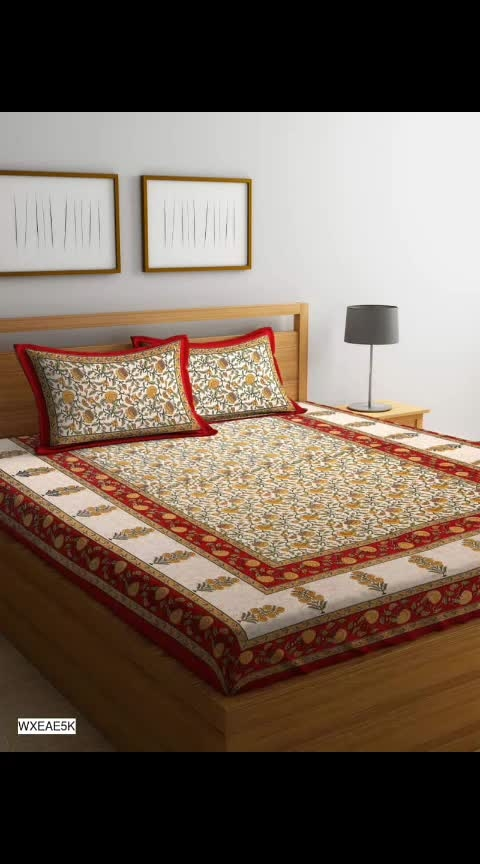 *Sanganeri Jaipuri Bedsheets* 💖 *@Rs 799+shipping*  Size: 225x270 cm, Pillow Cover Size: 40x67 cm Thread Count: 160 🤩  Material: Cotton 👌  No COD Charges. . . . . . #ajmer  #instagood  #instapost  #orderonline  #ordernow  #onlineshoppingindia  #instalove  #online_fashion  #onlineshoppe  #onlinestores  #onlineshoppinglovers  #onlinedeals  ##bedsheet #homedecor  #clientdiaries  #followmeonroposo