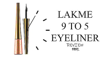 The Lakme 9 To 5 Black Impact Liner is a glam staple you should have!😍👌💝 https://kacyworld.com/lakme-9-to-5-eyeliner/ . #kacy #kacyworld #kacyblog #kacybeauty #kacyreviews #lakme #lakme9to5 #lakmeeyeliner