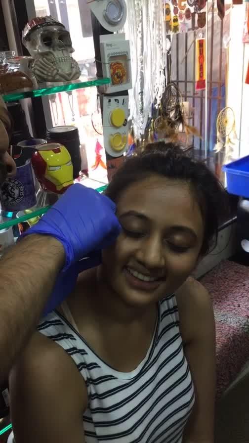 FOR PIERCINGS AND TATTOOS CALL AJ 9967770644 #traguspiercing #tragus   #piercing #piercings  #pierced #bellyrings #navel #earlobe #ear #photooftheday #bellybuttonring #lipring #instagood #modifications #bodymods #piercingaddict #bellybar #bellybuttonpiercing #ajs #clothes #accessories  #tattoo #bodypiercing #studio #bandra #west #hillrd #india  #mumbai #maharashtra #tattoostudio #bodypiercings