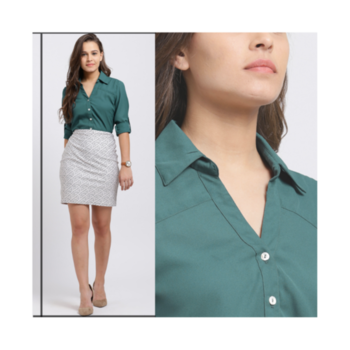 A girl should be two things: classy and fabulous.🔥 - Coco Chanel . . . . #trendarrest #trending #trendyoutfits #formals #shirt #skirt #color #feels #fashion #fashionista #fashionworld #fashiondesigner #followforfollow #likeforlikes #followers #tuesdayvibes #weekday #postoftheday