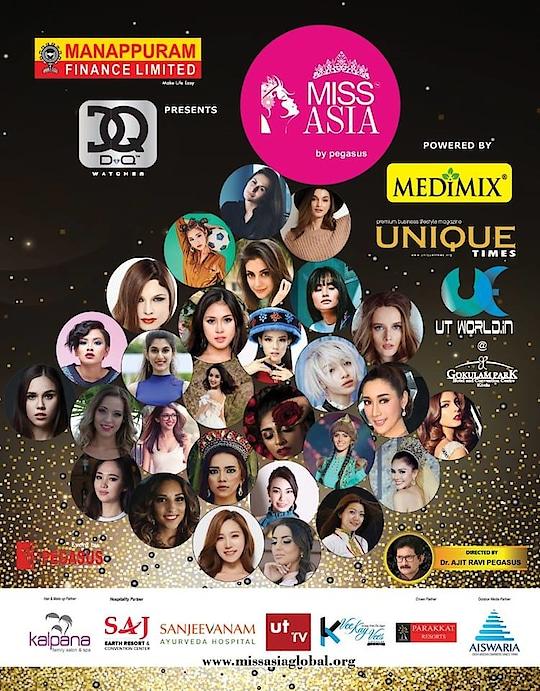 Miss Asia 2018  #Miss_Asia_2018 #MissAsia2018 #Finalists  #Pegasus_Global