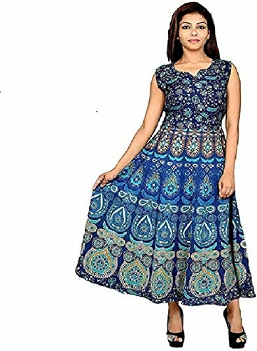 cotton silver Anarkali Gown  (Blue) Product link:-https://amzn.to/2P1L6vB  Click for more Option:-https://amzn.to/2RYrq9V  #kurta #womenkurta #kurtiforgirls #straightsuits #anarkalikurti #casualkurta #partywaerkurti
