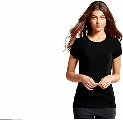 cotton silver Casual Short Sleeve Solid Women's Black Top  Product Link:-https://amzn.to/2P3WtDa   Click for more Option:-https://amzn.to/2RYrq9V  #top #casualtop #womentop #shortsleevetop #plaintop #blacktop #girlstop