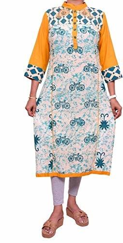 Cotton Silver Women Printed Straight Kurta  (Multicolor) Product Link:-https://amzn.to/2zifyqI   Click for more Option:-https://amzn.to/2RYrq9V  #kurta #womenkurta #anarkalikurti #kurtiforgirls #casualkurti #partywearkurti