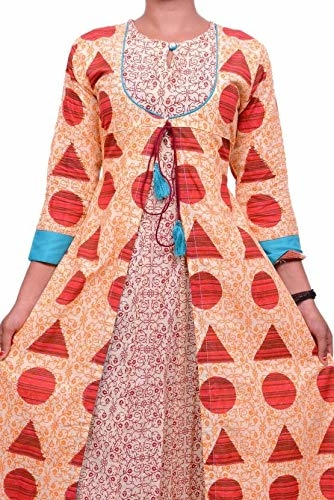 Cotton Silver Women Floral Print Anarkali Kurta  (Red, Orange) Product Link:-https://amzn.to/2JAyLZv   Click for more Option:-https://amzn.to/2RYrq9V  #kurta #womenkurta #anarkalikurti #kurtiforgirls #casualkurti #partywearkurti #multicolordress