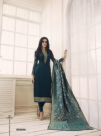 Celebrate This Festive Season With Beauty and Comfort Wearing This Designer Straight Cut Suit...💞 Price:- 3200/- For Similar Visit 👉 https://bit.ly/2CfhSTP For Order/Price What-app us (+91) 8097909000 Quality Assured Custom Stitching * * * * #salwar #salwarsuits #dress #dresses #longsuits #palazzosuits #suitsonline #embroidered #motiwork #onlinefloralsuit #floral #fashion #style #gown #gowns #classy #designer #partywear #partyweargown #partywearlehenga #exclusive #ethnic #floralprinted #love #us #uk #usa #international #worldwideshipping 📦 ✈