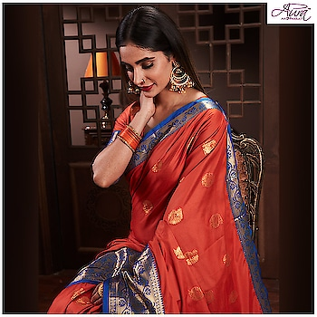 This Diwali flourish the elegance and vibrancy with the classically modern drapes designed by Aura Studio.  🔥Shop for ₹4999 & get ₹500 off🔥  Buy now : http://bit.ly/2Omdiwalisale   #saree #cottonsilk #cotton #sixyards #indian-festival #festivalcollection #traditional #saree #sareefestival