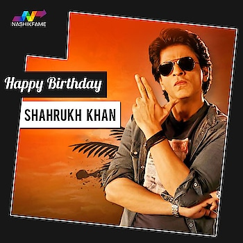 Wishing a very happy birthday to the Badshah of Bollywood, 👑 king of Romance 👑 and Man of awards The Shahrukh Khan. Comment down your favourite movies of SRK  #srk #shahrukhkhan #srkbirthday #sharukhkhanbirthday #birthday #kingkhan #love #kingofbollywood #fan #KingOfRomance #kingofheart #king #smile #handsome #happybirthday #sharukhkhan #great #actor #hero #besthero #baadshah #baadshahofbollywood #don #kingkhanofbollywood #manofawards #richestactor #Nashikfame #Nashik