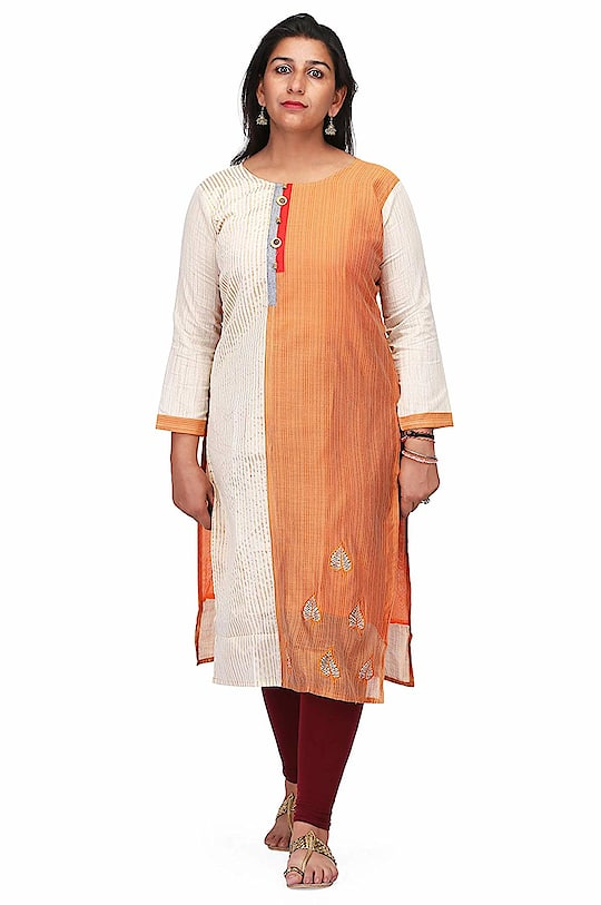 CHARITRA VIC Stylish Canderi Silk Printed Kurti For Women/Girls Material: Chanderi Silk,Fit Type: Regular Fit Washing instruction: Gentle Wash, Machine wash, Wash in normal water, Do not brush & bleach Type : A-Line   Western Wear Designer Fancy Product Fit and flare-long Length Sleeve Type-3/4th Sleeves  To buy click on this link:-  https://www.amazon.in/dp/B07G9CK2MY #kurti #ladieskurti #suit #womenkurti