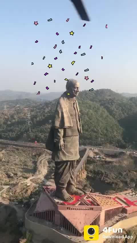 #statue-of-unity #statue  #sardar_vallab_bhai_patel #party