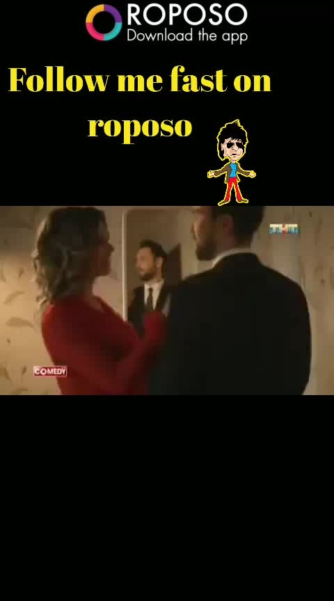 #commedy #haha-tv #trendying #f4follow #followusonroposo