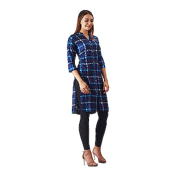 Swabha checkered Aline kurti for women  Fabric : Cotton Sleeve Type : 3/4 Sleeve Occasion : Casual ,Formal ,Office Wear and many more Work: Hand Work,Package Detaill : 1 Kurti Wash care : hand wash or dry clean  Report incorrect product information  Buy Now :-https://amzn.to/2T2kHMo   #kurti #kurtiforwomen #kurtiforgirls #women'skurti #jaipuriprinted #printedkurti #doublelayerkurti #layerkurti #multicolored #bluekurti  #yellowkurti