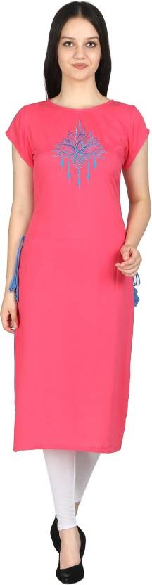 esigned with absolute perfection, this #rayonKurti will capture your hearts with its contrasting color and placement print all over. It has a round neck,3/4th sleeves.Make you look fashionable at work place or any other location. Here are some very beautiful and designer solid & printed Rayon kurti from the house of Elenora you can just click on the images and shop now from Flipkart market place #kurti #womenwear #topwaer #casualwomen #cottonkurti #rayonkurti #designerkurti #solidkurti https://bit.ly/2DzE6Qv