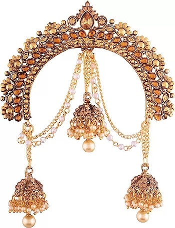 Unique Gold Stone Work Hair Accessories  @@@ https://indiaemporium.com/unique-gold-stone-work-hair-accessories.html  #madetoorderoutfits #clothinginindia #hairaccessoriesonline #bridalshoppinginindia #bridalshoppingstore