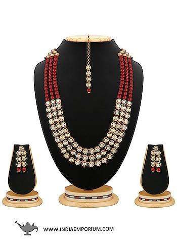 Stunning Maroon Pearl & Stone Brass Necklace Set  @@@ https://indiaemporium.com/stunning-maroon-pearl-stone-brass-necklace-set.html  #bridalshoppingnecklaceset #fashionjewelleryforwomen, #jewellers, #designerjewelleryforwomen, #silverjewelleryforwomen, #Jewelleryonline, #jewellerysets, #mangalsutras, #rings, #bracelets, #pendants, #earrings, #fashionjewellery, #necklaces, #budgetjewellery, #jewelry, #lowprice, #bestjewellery, #shopjewellery