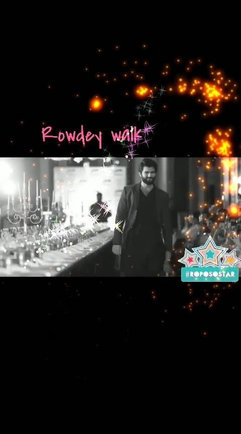 #rowdey  #vijaydevarakonda  #walkinstyle  #telangana
