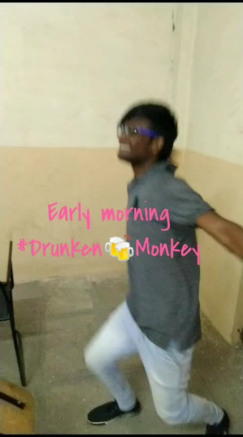 #drunkenmonkey #earlymorningshoot