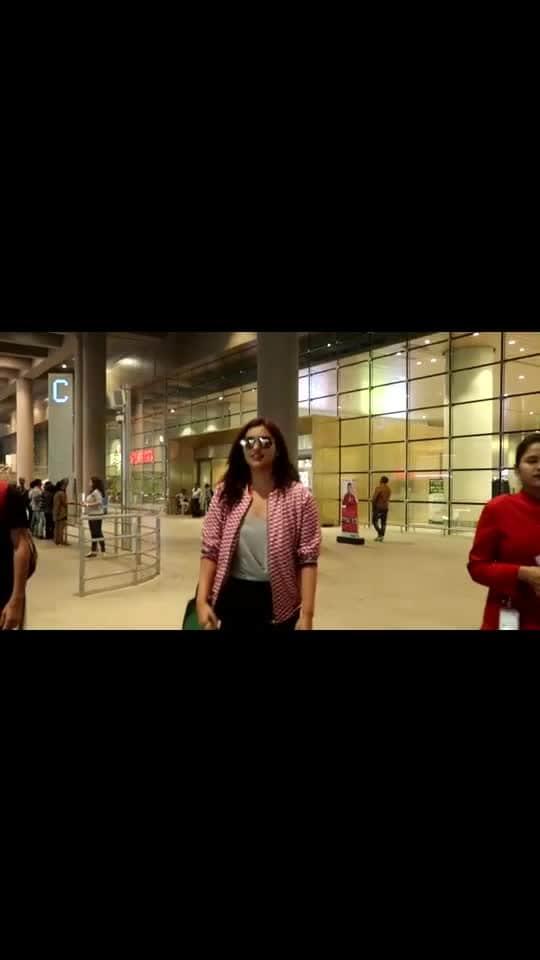 Parineeti Chopra spotted at #Mumbai Airport...  #ParineetiChopra #airportfashion #airportstyle #airport #Bollywood #bollywooddresses