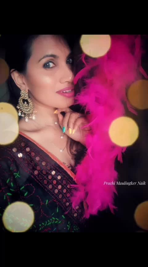 Brutally Soft ❣ #prachimaulingkernaik #indianblogger #indianbloggersroposo #puneblogger #indianlook #indianbeauty #desigirl