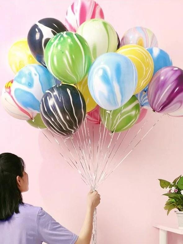 Multi-color 12 inch Round Marble Balloon Pack of 10 Website Link-https://goo.gl/UJyuwj . . . . . #balloons #christmasspecial #wedding #christmas #happynewyear #party #newyearparty #christmasparty #decorations #birthdayparty #babyshower #christmasgifts #christmasseason #christmasparty #festive #christmas #christmasstyle #christmasoutfit #christmas2018 #stainlesssteel #xmastree #happynewyear2018 #newyear #celebration