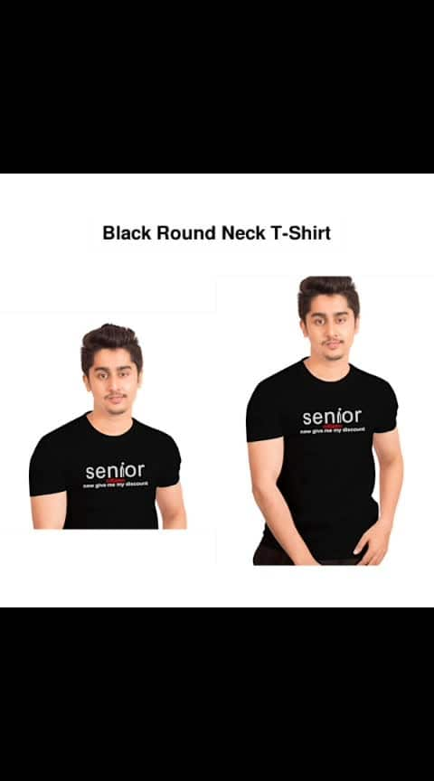 Black Round Neck T-shirts  - - #fashion #style #stylish #love #photography #instapic #me #cute #photooftheday #nails #hair #beauty #beautiful #instagood #pretty #swag #pink #girl #eyes #design #model #dress #shoes #heels #styles #outfit #purse #jewelry #shopping
