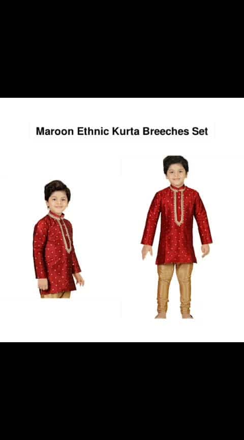 Maroon Ethnic Kurta Breeches Set - - #fashion #style #stylish #love #photography #instapic #me #cute #photooftheday #nails #hair #beauty #beautiful #instagood #pretty #swag #pink #girl #eyes #design #model #dress #shoes #heels #styles #outfit #purse #jewelry #shopping