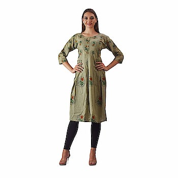 Swabha Green printed anarkali kurti for women  Fabric : Cotton Sleeve Type : 3/4 Sleeve Occasion : Casual ,Formal ,Office Wear and many more Work: Hand Work,Package Detaill : 1 Kurti Wash care : hand wash or dry clean  Buy Now :- https://amzn.to/2r1r9qt  #womens #clothing #kurti #top #womenskurti #designer #printed #fashionable #simple #comfortable #fashion #anarkali #longkurti #casual #partywear