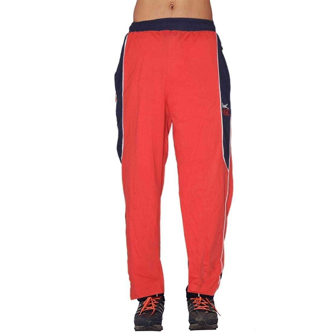 SSR Track Pants for Men - Red  Material: Hoisery fabric, Waist style: Elastic waistband two side-seam pockets Perfect for sports, gym, running. No fly Pull-on design, two pockets on side  Buy Now :- https://amzn.to/2FtiV4j   #paints #stlylish #cotton #menspaint #comfortable #cottonpaints #stylishpaint #printeddesign