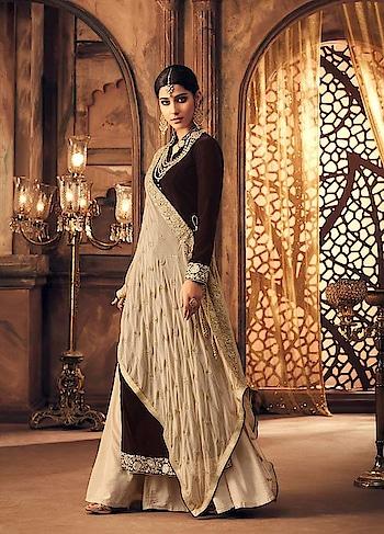 Winter Fashion - #Manndola exclusively launches the #velvet material Dresses. Grab this stunning #brown #partywear #Suit available @ https://goo.gl/wpQAwr #newarrival #SalwarSuit #BuyOnline #OnlineShopping #sneakpeek #golden #indiandesigner #bollywoodfashion #ShopNow #Surat #mUmbai #India #USA #unitedstates #Canada #Australia #Dubai #UAE #Mauritius #London #Uk