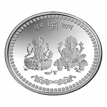 JC MART 999 luxmi Ganesh Silver Coin 100 gm  Produced using Highest Engineering skills at a modern, State-of-Art Refinery, the best assurance of consistent Quality excellence and It comes in fully-guaranteed tamper proof packs. BIS Hallmarked. Pure Silver Coins 999 Purity. Ganesha + Lakshmi On One Side And Swastik on Reverse Side Of the coin . A Perfect Gift For Every Occasion. Gift Wrap And Message Can Be Instructed During Check Out. Silver Coin Lakshmi and Shree .Weight 100 grams. Made In India. Product Of JC MART  Buy Now :- https://amzn.to/2TqwxA5  #womenring #ring #stylishring #engagementring #goldplatedring #sliverring #womensring #ringsforwomen #mensring #band #mensband #diamondring #solitairering #silvercoins